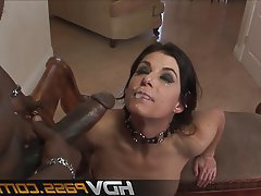 Blowjob, Facial, Hardcore, Interracial