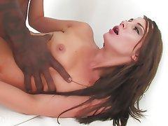 Brunette, Interracial, Pornstar, Small Tits, Squirt