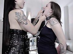 BDSM, Femdom, Lesbian, Spanking, Strapon