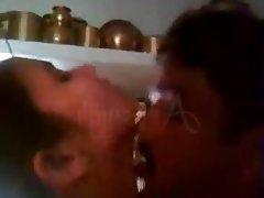Indian, Housewife, Sucking, Fucking