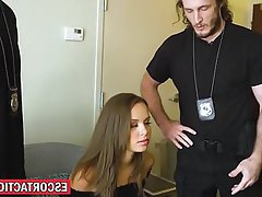 Teen, Small Tits, Bondage, Big Cock, Fucking