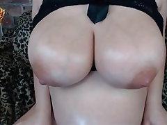 Webcam, Nipples, Pregnant, Big Nipples, Big Tits