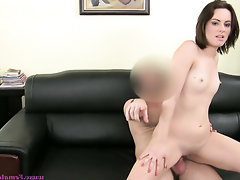 Anal, Babe, Blowjob, Casting, Creampie