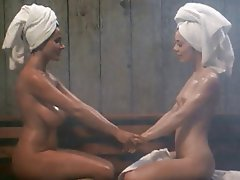 Big Boobs, Lesbian, Shower, Softcore, Vintage