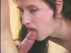Blowjob, Facial, Brunette